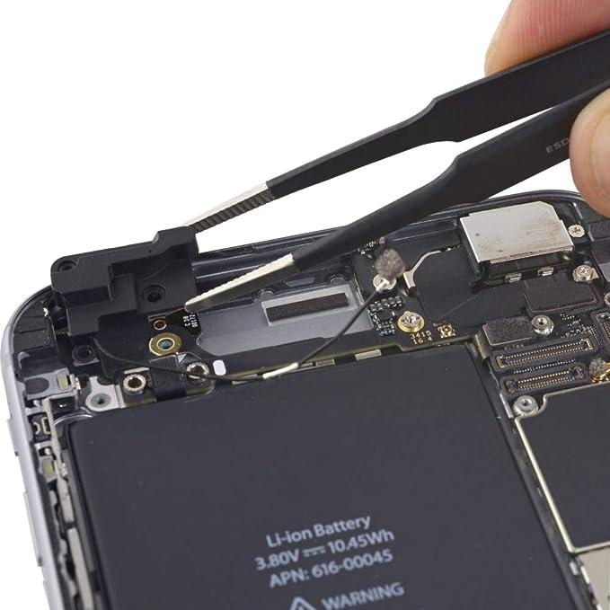MMOBIEL Soporte para Bluetooth Antena WiFi Repuesto Compatible con iPhone 6S Plus Cubierta de Retención WiFi WLAN