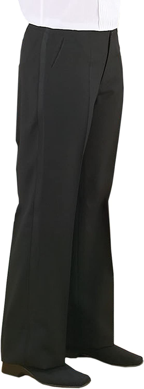 1920s Fashion for Men Neil Allyn Mens Plain Front Comfort Waist Tuxedo Trouser £28.00 AT vintagedancer.com