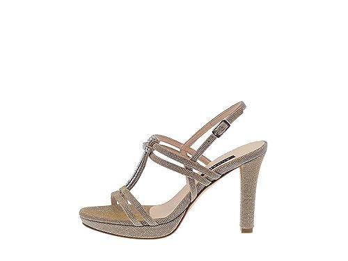 ALBANO 7416 Sandalo Elegante Donna Beige 40