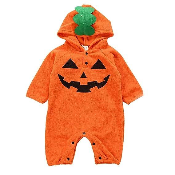 Baiomawzh Disfraz de Halloween Ropa Bebe Niña Niño Forma de ...
