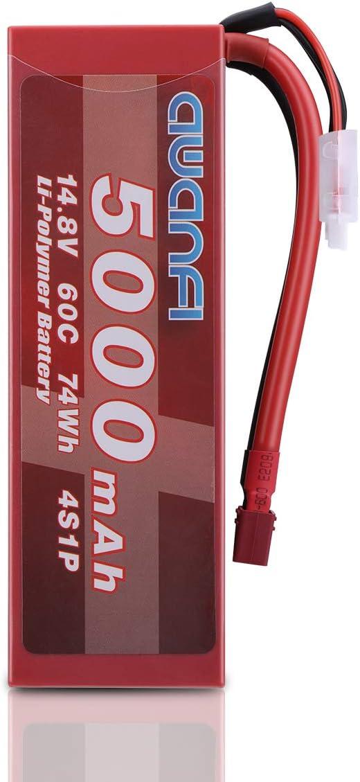 Bateria 4S 14.8V 5000mAh 60C Lipo Hardcase