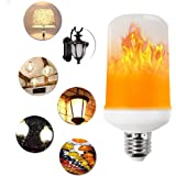 LED Flame Effect Light Bulb, niceEshop(TM) E27 Flickering Fire Flame Light Bulbs, 3 Lighting Modes Simulated Nature Fire Atmosphere Decorative Lamps for Christmas/Home/Garden/Restaurant/Party/Bar/Wedding/Festival Decoration