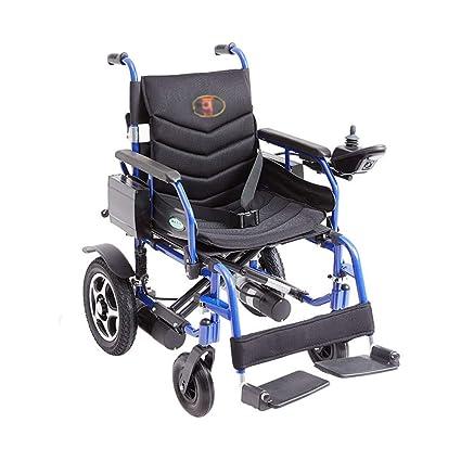 Amazon.com: ZJⓇ Wheelchair Wheelchair, Aluminum Alloy Electric ...
