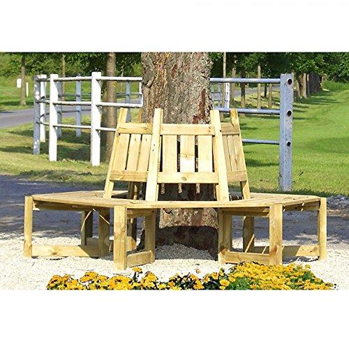 Baumbank Gartenbank für die Aufstellung um einen Baum von Gartenpirat®