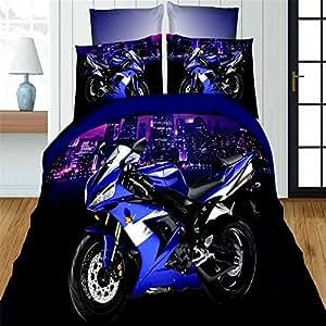 Amazon Com Esydream Fashion 3d Oil Motorcycle Print Boys