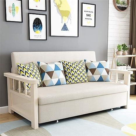 Amazon.com: AIMCAE Convertible Sofa Bed Foldable Double Sofa ...