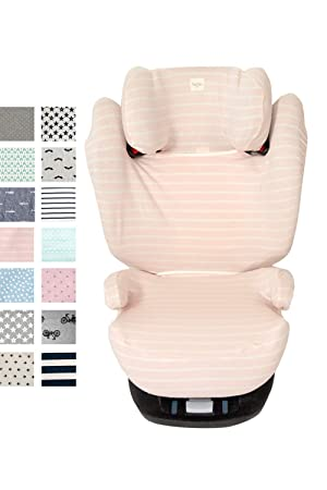 Sitzbez/üge f/ür Kinder-Autositz Cybex /® Pallas /® M /& Solution /® M und M-Fix /® Farbe Ice Cream Fundas BCN /® F116