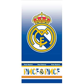 Real Madrid Toalla Playa Microfibra 70x140 cm: Amazon.es: Oficina y papelería