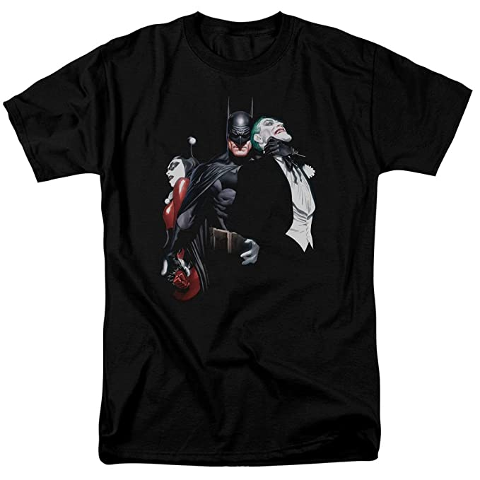 1d62f3b9c Amazon.com: Batman Joker Harley Choke Unisex Adult T Shirt for Men ...