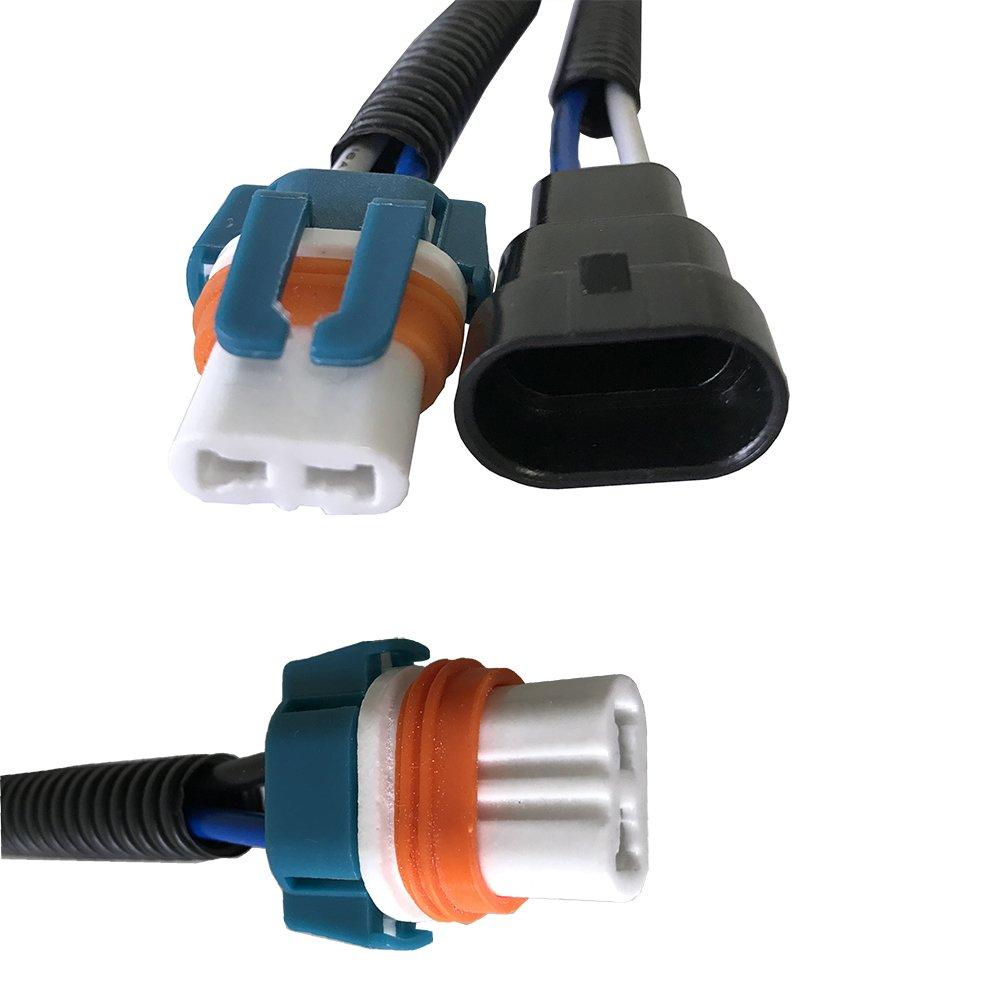 Amazon.com: arneses de cableado de luz de coche automotriz ...
