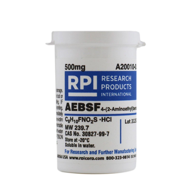 AEBSF [4-(2-Aminoethyl)-benzenesulfonyl fluoride, HCl], 500 Milligrams