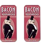 Accoutrements Bacon Flavored Toothpicks - 2 Packs