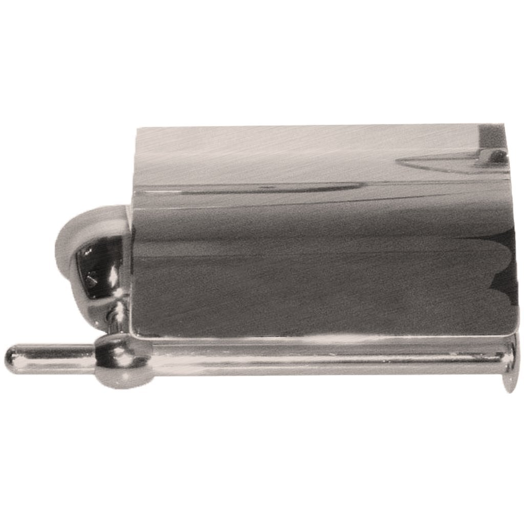 Borhn B51926 Caltrano Toilet Roll Holder with Cover, Brushed Nickel by Borhn