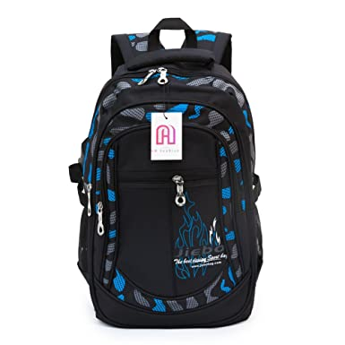 Amazon.com | Student School Backpacks for Boys School Bookbag for ...