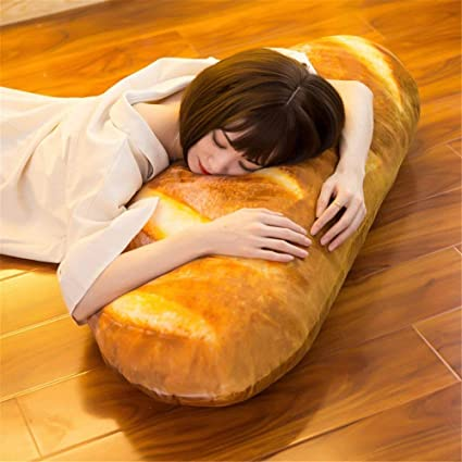 3D Simulation Bread Shape Pillow