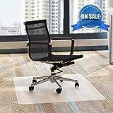 Chair Mat Office for Hardwood Floors 48 x 30 - FEZIBO Floor Mats for Desk Chairs