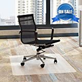 Chair Mat Office for Hardwood Floors 48 x 30 - FEZIBO Floor Mats for Desk Chairs
