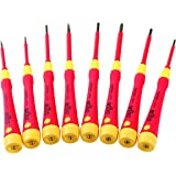 Wiha 32088 Precision Pico Insulated Screwdriver Set (8 Piece)