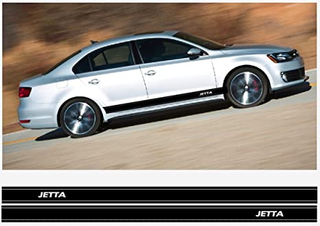 Amazon Com Vw Jetta Side Decal Racing Stripes Decal Set 2200mm