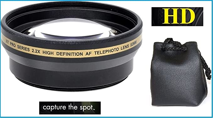 2.2X Hi-Def Telephoto Lens for Sony Alpha A5000 A5100 ILCE-5000 ILCE-5100 40.5mm Compatible