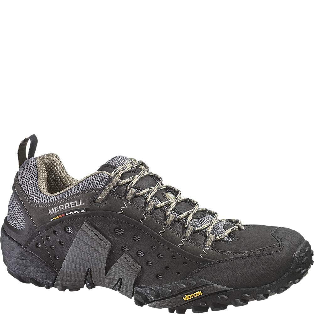 Noir ((Smooth Noir) Merrell Intercept, paniers Basses Homme