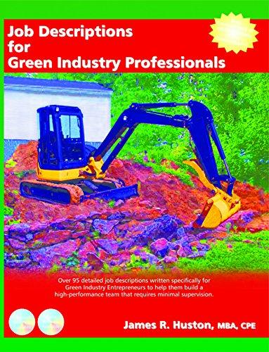 Job Descriptions for Green Industry Professionals (Book)