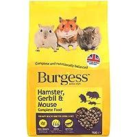 Burgess Hamster Gerbil and Mouse Food Mix 750G
