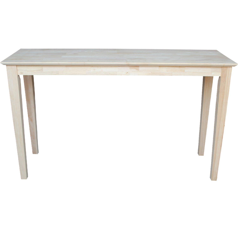 Amazon.com: International Concepts Darien mesa de sofá ...