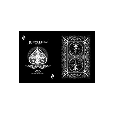 Amazon.com: Black Ghost Deck (2nd Edition) - Bicycle Playing ...