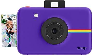 Amazon.com : Polaroid Snap Instant Digital Camera (Purple) with ...
