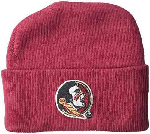 NCAA Florida State Seminoles Infant Knit Cap, New Born, Crimson (Cap Fsu)