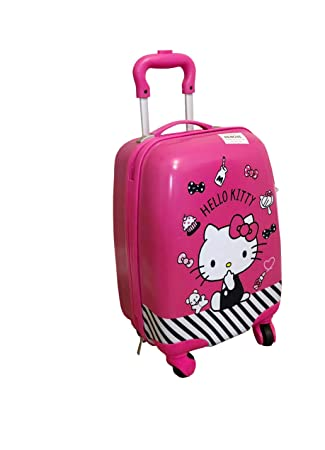 243a4c20d Amazon.com | Hello Kitty Carry-on Rolling Case Japan Limited Edition 16