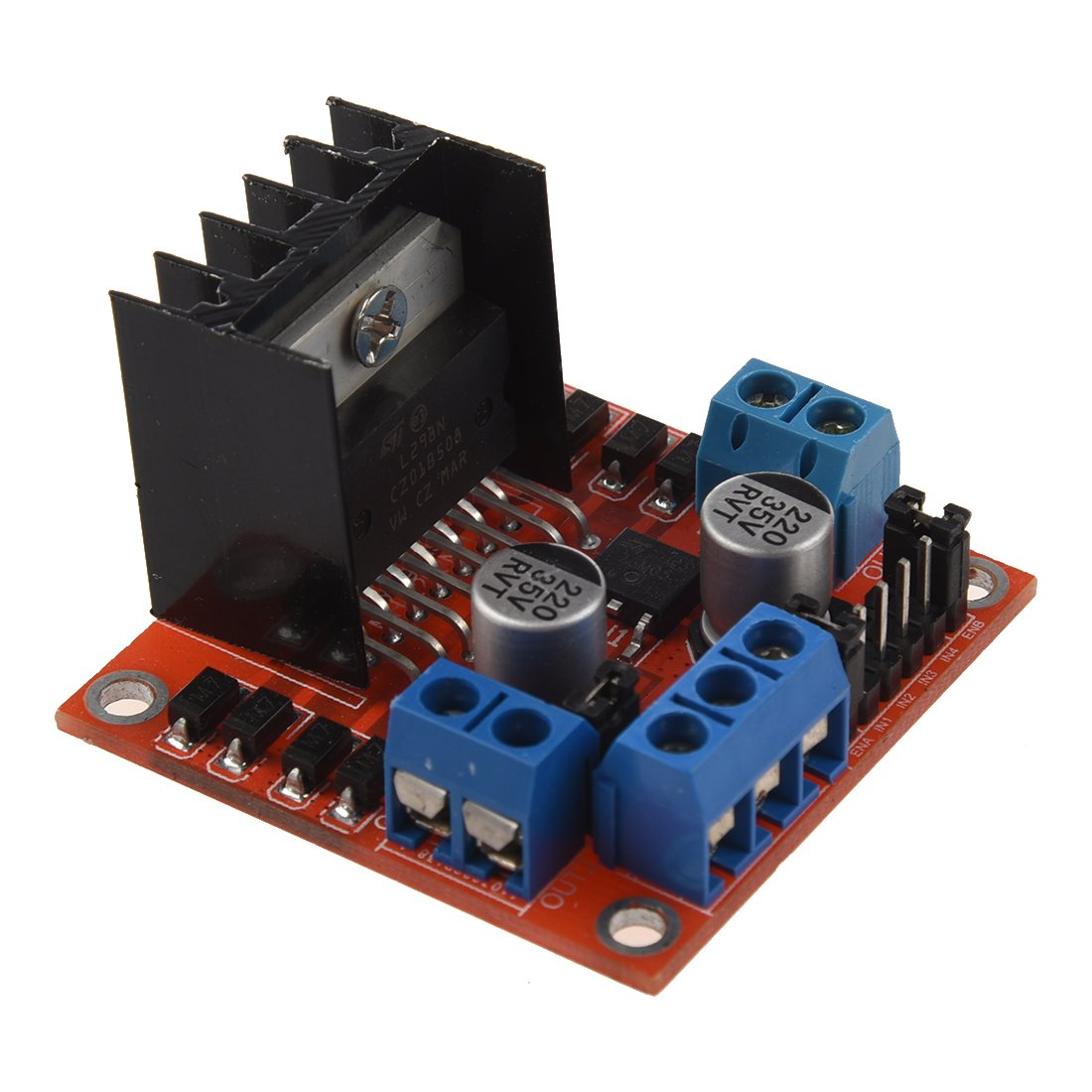 TOOGOO(R)DC Stepper Motor Drive Controller Board Module L298N for arduino Dual H Bridge