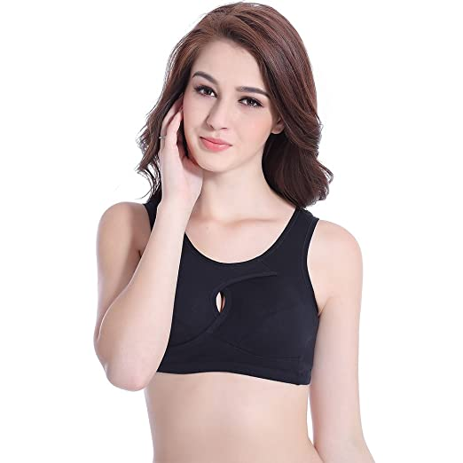 75b72008373 Womens Seamless Sport Breastfeeding Pregnant Women Underwear Pregnant  Nursing Bra Sports Yoga Sleeping Bralette (M