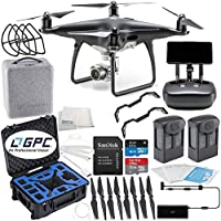 DJI Phantom 4 PRO+ PLUS Obsidian Edition Drone Quadcopter Includes Display (Black) Premium Essentials Bundle