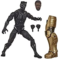 "Marvel Legends Series - Avengers Black Panther 6"" Premium Action Figure with 3 Accessories - Kids Toys & Collectible…"