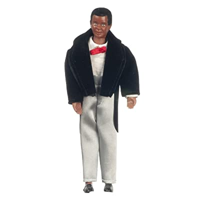 Black Victorian Man with Outfit #00058: Toys & Games