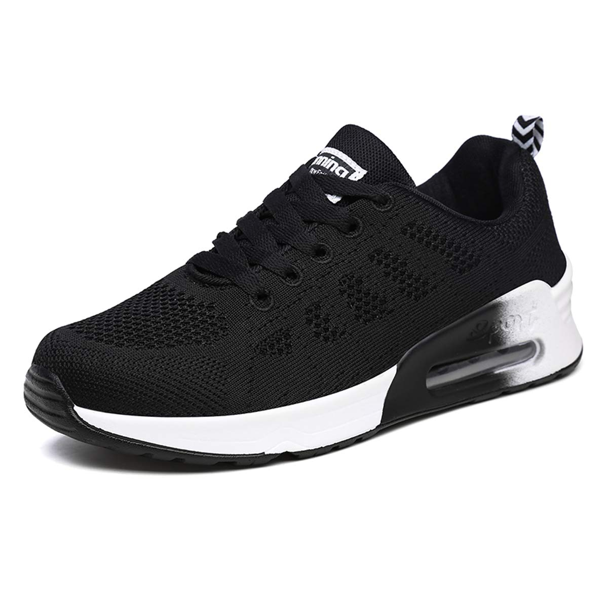 Womens Mesh Lace Up Trainers Sneakers Ladies Lightweight Sport Pumps Shoes Size