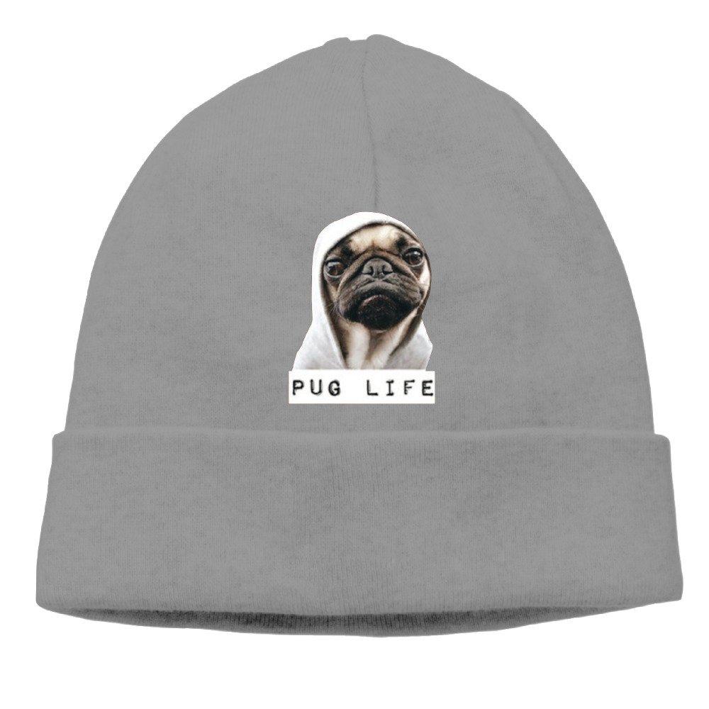 Amazon.com  Pug Life Youth Cool Beanie Hat Cap Winter Hat  Clothing e352c4624d1