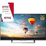 Sony XBR-43X800E 43-inch 4K HDR Ultra HD Smart LED TV (2017 Model) w/ 3 Month Netflix Subscription