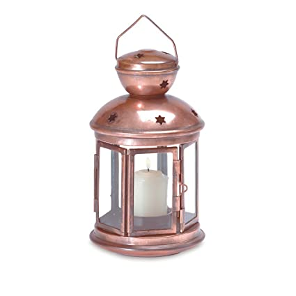 Fabulous Amazon Com 5 Lot Distressed Country Copper Lantern Candle Download Free Architecture Designs Scobabritishbridgeorg