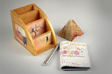 Funda de cuero artesanal regalo original estuche para ...