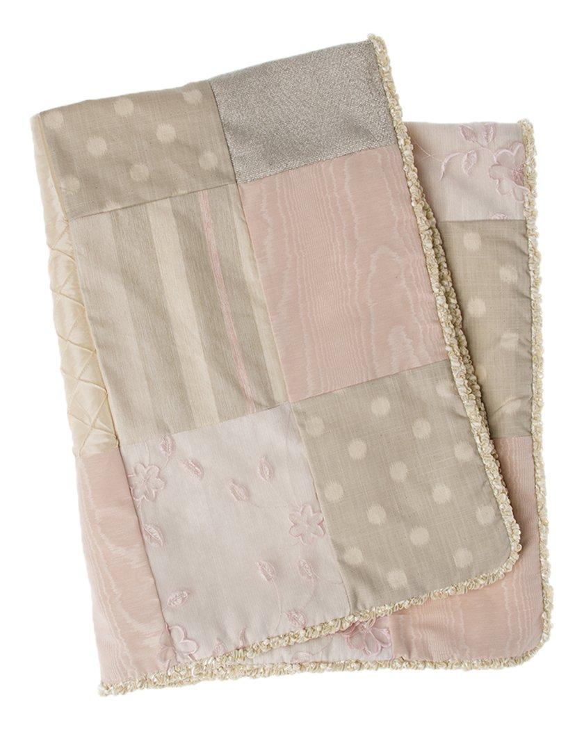 Glenna Jean Contessa Quilt, Pink/Cream by Glenna Jean