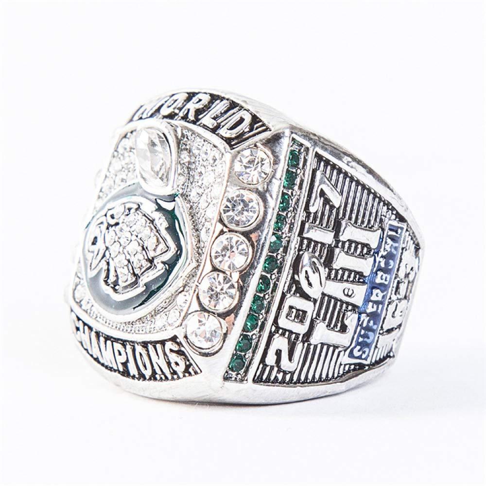 WEII Europ/äische und Amerikanische Vintage Ringe Philadelphia Eagles Championship Ringe Fan Souvenir Ringe