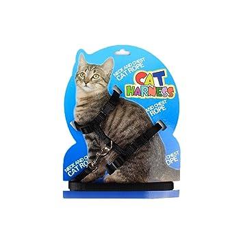 JL - Correa Ajustable para Gato y Arnés para Mascotas (1 Unidad): Amazon.es: Productos para mascotas