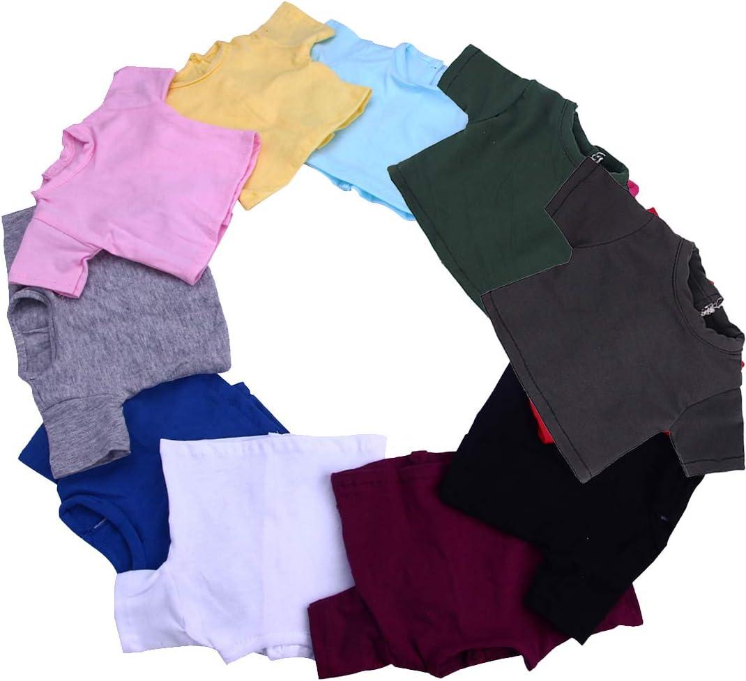 "Heart Throb in Training T-Shirt for 18/"" American Girl Boy Logan Doll Clothes"