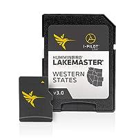 Humminbird 600011-4 LakeMaster Western States V3 Digital GPS Maps Micro Card