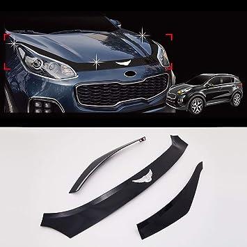 Automotiveapple Genuine San emblema campana Guardia Shield para Kia Sportage QL: Amazon.es: Coche y moto