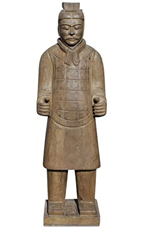 Asien Lifestyle Terracotta Warrior Statue China Natural Stone (147cm