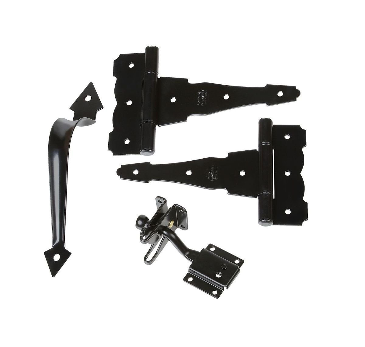 Stanley Hardware S824-334 CD1308 Decorative Gate Kit in Black